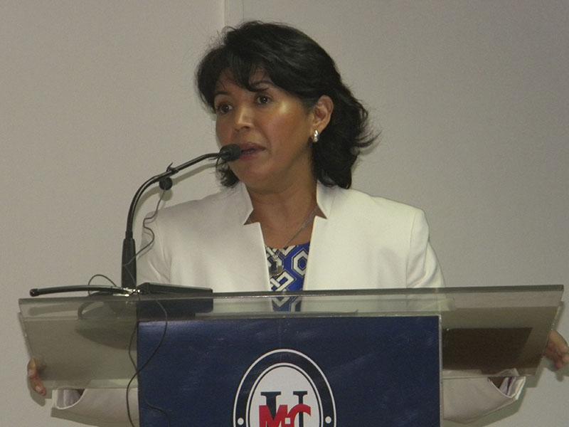 Senadora Yasna Provoste expone sobre Educación Superior en inauguración del Centro de Estudios en Educación de la Universidad Miguel de Cervantes.