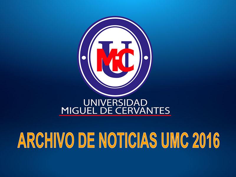 Archivo de Noticias UMC Año 2016