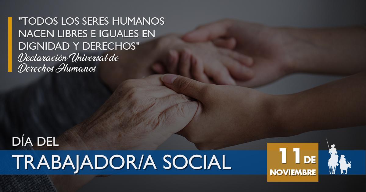 Mensaje en el Día del Trabajador y Trabajadora Social.