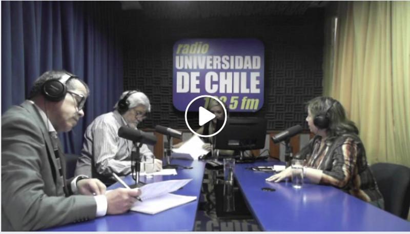 Diego Olivares, Director del Centro de Estudios Laborales y Responsabilidad Social (CELARES) participa en foro radial.