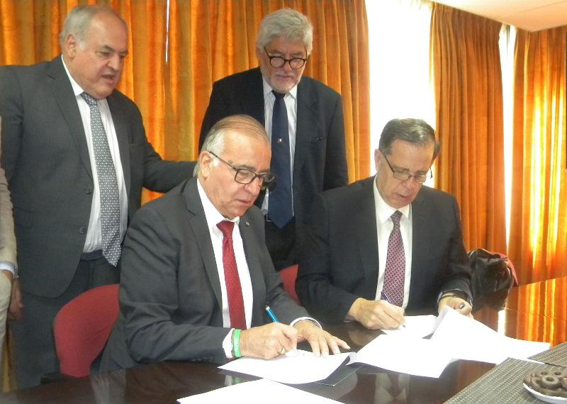 Universidad firmó convenio de colaboración con el Instituto Nazionale Asistencia Sociale