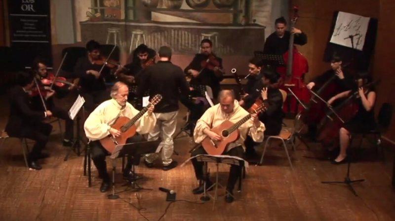 Dialogo con Guitarra. V Parte. Duo Orellana y Orlandin junto a Orquesta de Cámara de Lo Prado.