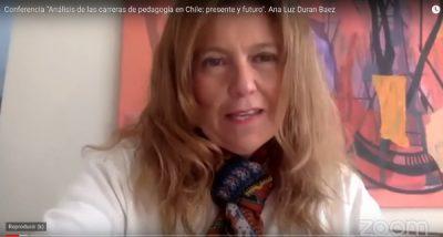imagen de un video, mujer hablando