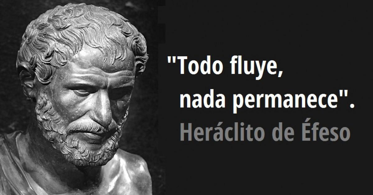 Grandes Pensadores de la Historia de la Humanidad. Heráclito | Universidad  Miguel de Cervantes