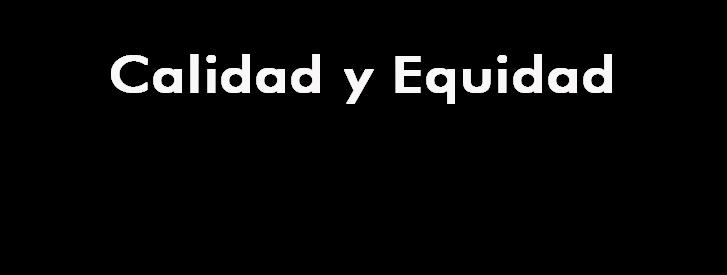 calidad y equidad